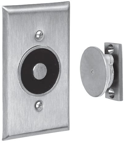 ABH 2400L Recessed Electro Magnetic Door Holder   Flush