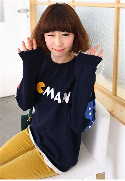 Sweater Pacman 2 kawaii clothing jersey pacman pac sweater wh154