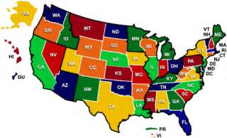 Colored Map Of The United States by Pics Photos Colored United States Map