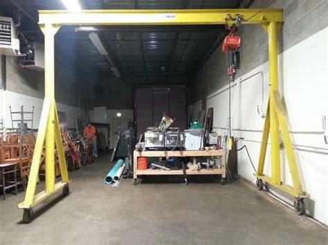 garage jib crane ellsen travelling gantry crane for sale best solution for