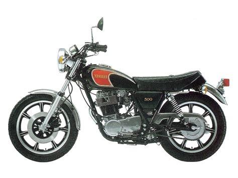 Suzuki Sr500 Maschinisten Und Soehne Yamaha Sr 500 The Time Capsule