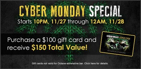 Cyber Monday Gift Card Promotions - lehigh valley grand prix 2016 gift card promotions lehigh valley grand prix