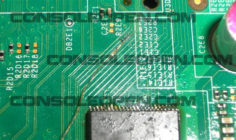 tutorial flash xbox 360 slim eng tutorial dual nand hy27us08281a xbox 360 slim
