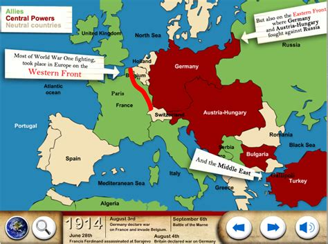 one map world war one ww1 for android apps on play
