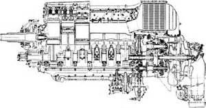 Rolls Royce Merlin Engine Blueprints Torque Meter V6 N1
