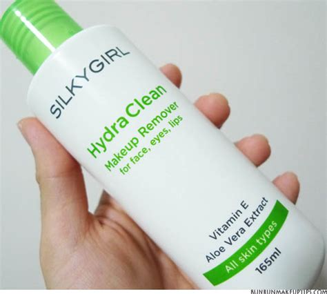Makeup Silkygirl hydra clean makeup remover silkygirl archives bun bun