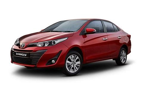 toyota cars with price toyota yaris price launch date in india review mileage