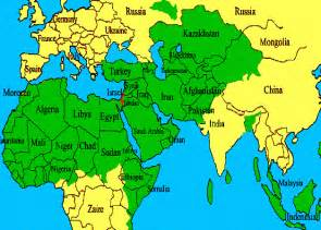 World Map Israel by What Truly Scares The Hell Out Of A Muslim Man Sharia
