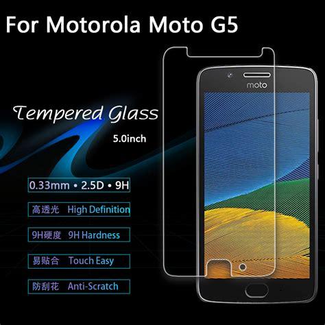 Motorola Moto G5 5 0 Inchi Tempered Glass Screen Guard Murah for motorola moto g5 5 quot xt1672 xt1676 tempered glass