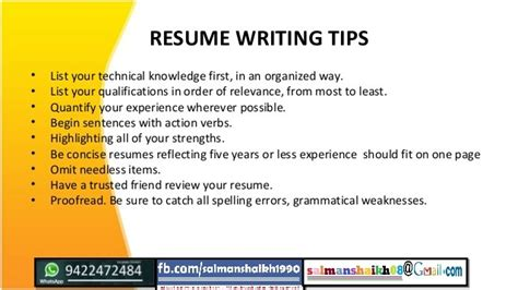 Qut Resume Tips How To Write Refernces