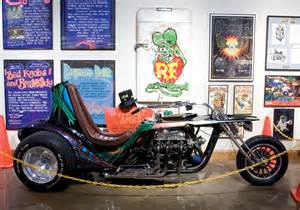 Fiberglass Spray Paint - featured motorcyclist ed big daddy roth extreme motorcycle customizer and builder 187 national