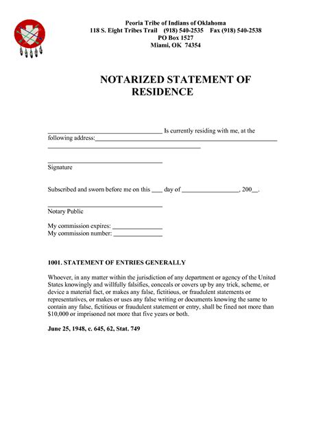 Proof Of Residency Letter Notarized Template Best Photos Of Proof Of Residence Notarized Letter Sle Notarized Letter Template Proof Of