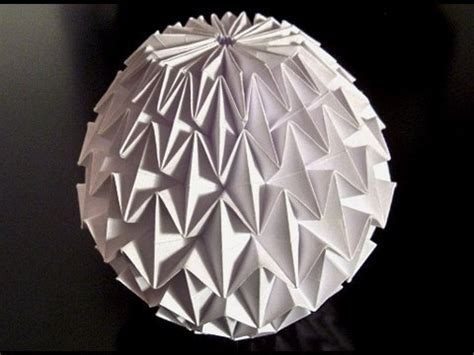 Origami Paper Balls - how to make an origami magic