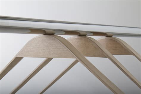 Magnetic Clothes Hangers by Hanger 187 Retail Design