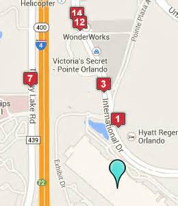 Hotels Near Orlando Convention Center Map by Orange County Convention Center Hotels Orlando Fl