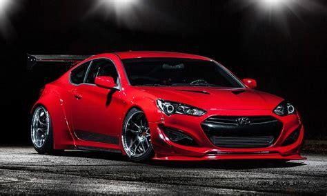 hyundai racing best of sema 2014 hyundai genesis coupe by bloodtype racing