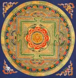 Om Lotus Mandala Om Tantric Mandala With Lotus