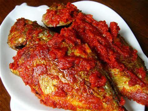 Bumbu Ikan Bakar Unie Que Masakan Padang original recipe ikan goreng bumbu balado balado spicy fried fish