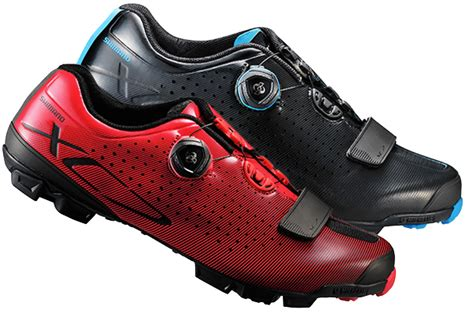 red motorcycle shoes shimano kicks out new enduro trail xc road shoes plus