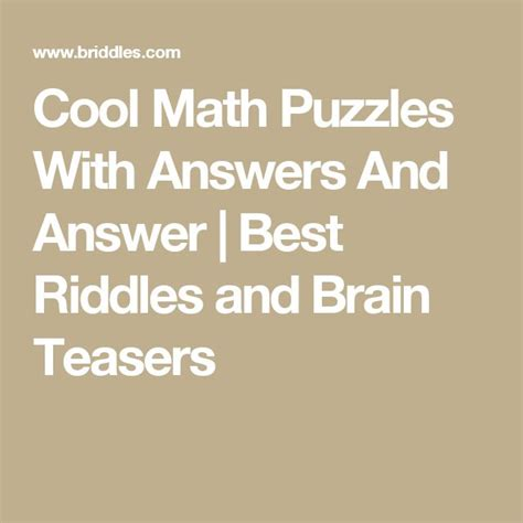 best 25 riddles and answers ideas on riddles