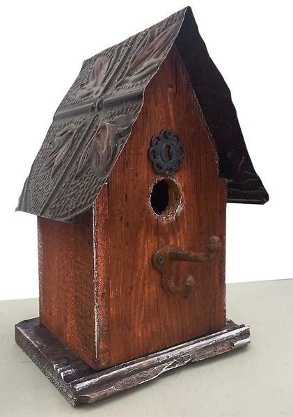barn wood tin birdhouses rustic birdhouse unique bird