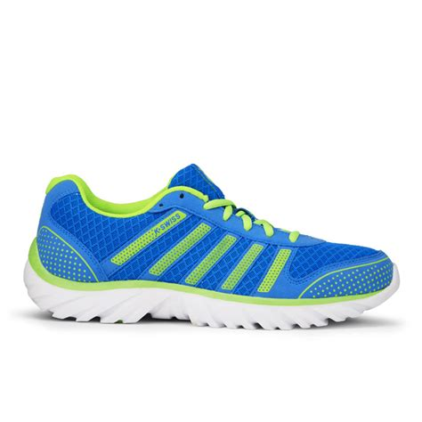light athletic shoes k swiss s blade light running shoes blue green white