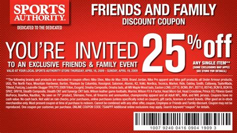sports shoes discount code 2014 sports authority coupon in store more on