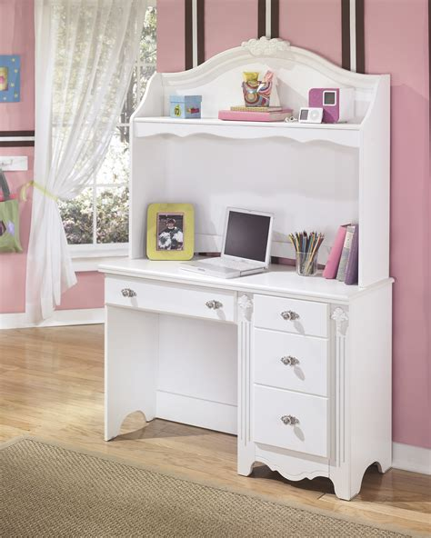 furniture white bunk bed with desk for girls stylish
