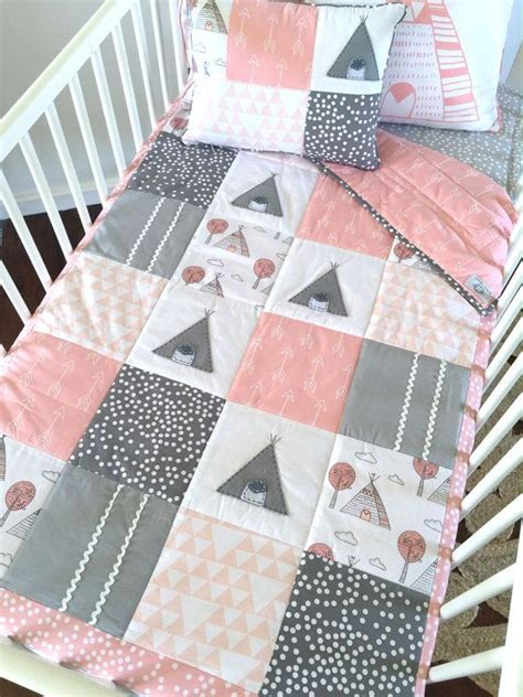 Patchwork Cot Bedding - best 25 baby patchwork quilt ideas on simple