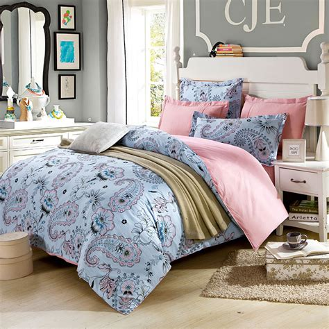 pink and white bedding classic floral cotton bedding set in light pink and white ebeddingsets