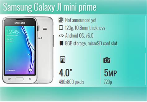 Samsung J1 Vs Prime samsung galaxy j1 mini prime specs price features