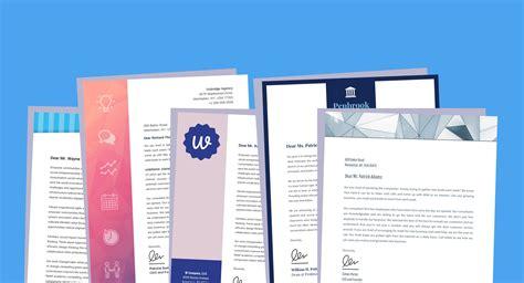 business letterhead templates branding tips