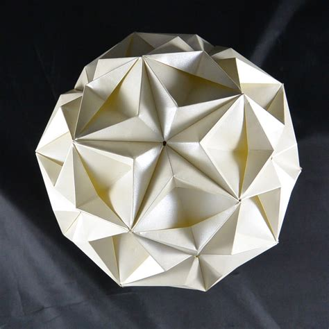 Origami Kugel Anleitung by Origami Kugel Anleitung My