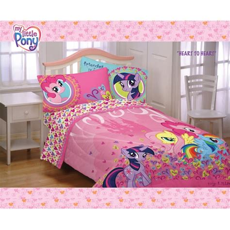 My Little Pony Twin Full Comforter For Little Girls My Pony Bed Sheets