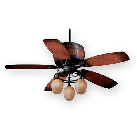 Cabin Ceiling Fans With Lights Vaxcel 52 Quot Cabernet Ceiling Fan Aireryder Fn52455obb Rustic W Light