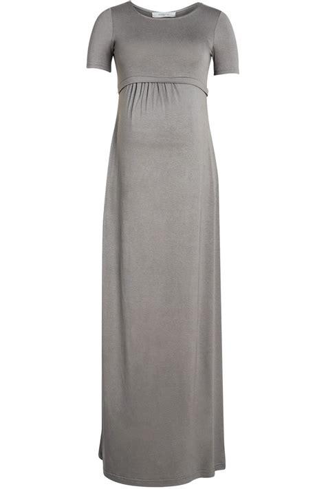 Jeddah Dress by Jeddah Maxi Dress With Neck And Sleeves