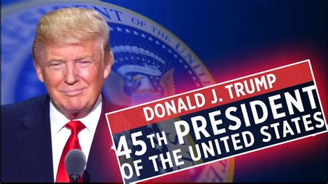 donald trump s unthinkable election donald j trump wins 45th president hillary loses