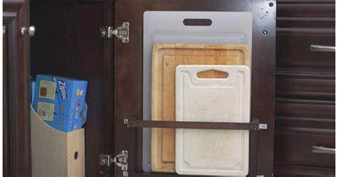 diy vertical   cabinet door cutting board holder hometalk