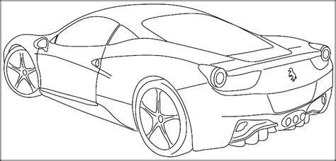 sports car coloring pages printable sports car coloring pages for