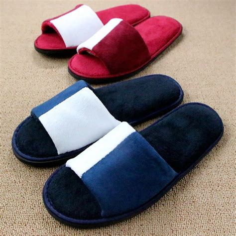 Sandal Hotel Slipper Hotel Sandal Rumah Sakit new hotel slippers 2016 indoor home shoes pantuflas coral fleece plush slipper thicken