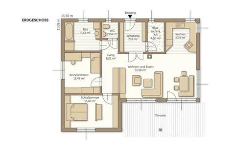 Fertighaus Grundrisse Einfamilienhaus by Fertigteilhaus Bungalow Grundriss Emphit