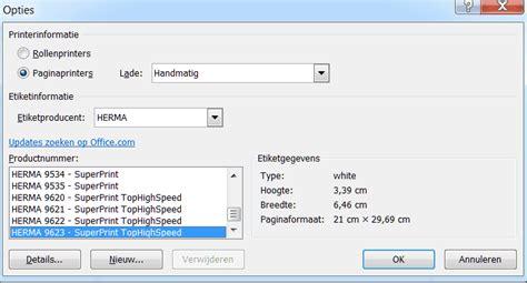Etiketten Uit Excel Naar Word by Word Tip Adres Etiketten Maken