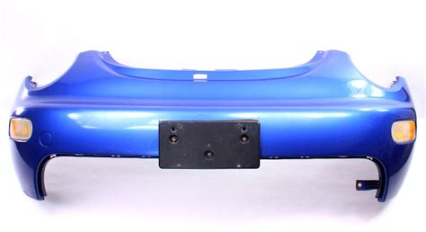 front bumper cover   vw beetle lwy techno blue genuine