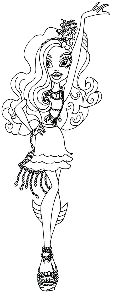 monster high haunted twyla coloring pages free coloring pages