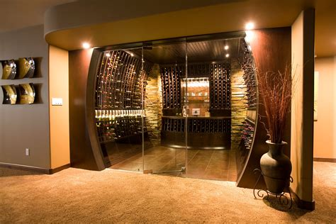 Small Kitchen Lighting by Custom Wine Cellars Genuwine Cellars