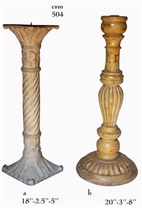 Wooden Candle Stands Wooden Handicrafts Rana Overseas Moradabad India