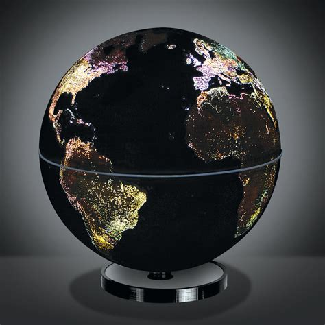 the city lights globe hammacher schlemmer
