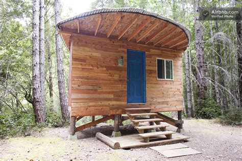 tiny house vacation rental you can stay in this off grid micro cabin for 35 a night