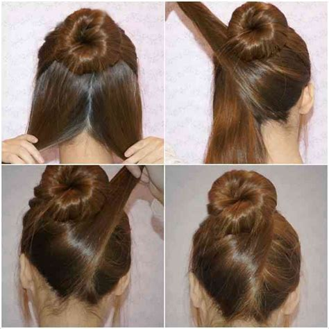 easy hairstyles 15 easy hairstyles tutorials in less than 10 minutes