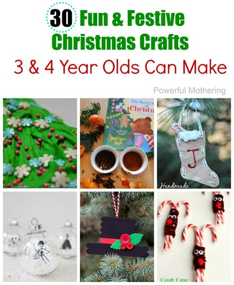 christmas crafts for 3 year olds 25 easy to make preschool crafts